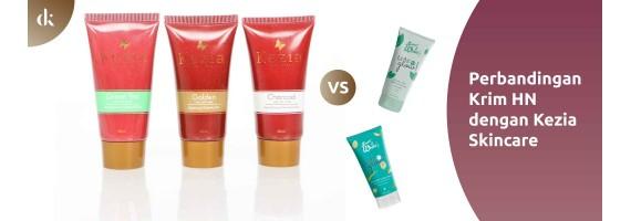 Perbandingan Masker Wajah Alami Everwhite vs Kezia Skincare