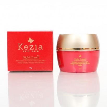 Kezia Night Cream Whitening 15 gram